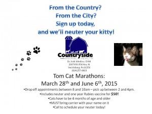 Tomcat marathons